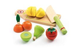 Djeco - fruit en groente snijplank DJ06526