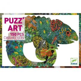 Djeco - DJ07655 puzzel art -  chameleon