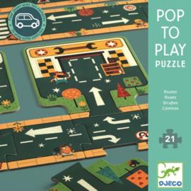Djeco - pop to play puzzel