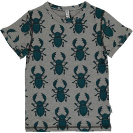 Maxomorra top short sleeve beetle