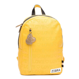 Zebra Rugzak (M) - Love Yellow