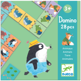 Djeco - domino Animals 28pcs DJ08115