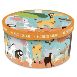 Scratch puzzel - Xl safari