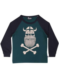Danefae Basic raglan Tee navy/dark duck