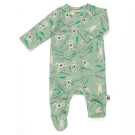 Onnolulu  jumpsuit Otto with feet monkey