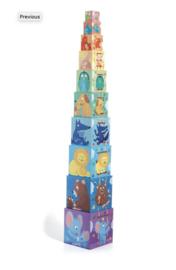 Djeco - stapelblokken Regenbogen DJ08510