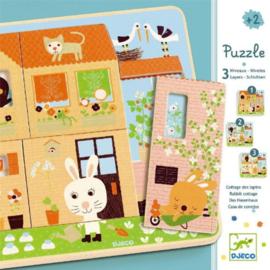 Djeco puzzel  - chez-carot