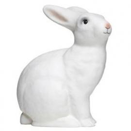 figuurlamp wit konijn