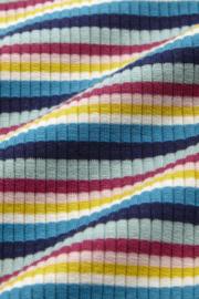 Petit Louie  Frilly tee daydream stripe
