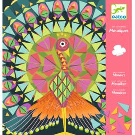 Djeco -mozaik - kunst op nummer - coco