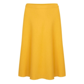 Very Cherry - A-Line Skirt  mustard