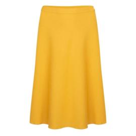 Very Cherry - A-Line Skirt  mustard