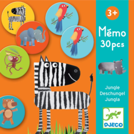 Djeco - memorie jungle 30 pcs DJ08159