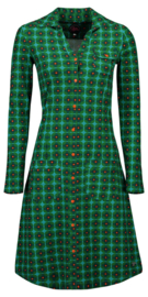Tante Betsy dress snappie retro blossom - green