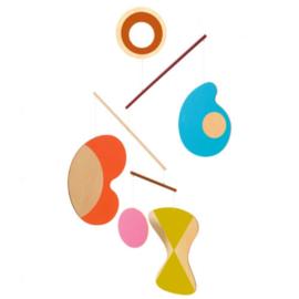 Djeco houten mobiel -   abstractie DD04366