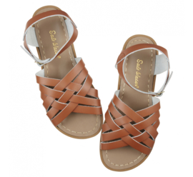 Saltwater sandals retro tan