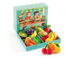 Djeco - groente en fruit DJ06621