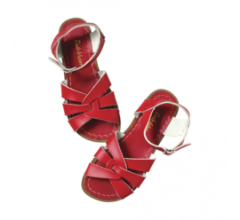 Saltwater sandals rood