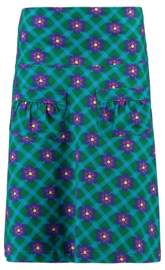 Tante Betsy  Skirt Flow Chekkie Daisy green