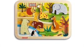 Janod  Chuncky puzzel - Zoo