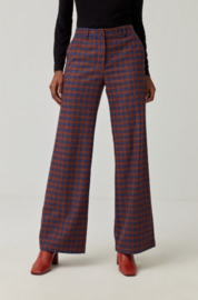 Surkana straight legged long trousers blue