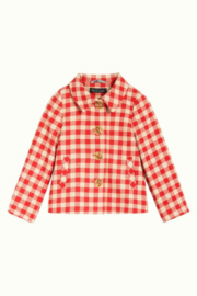 Petit Louie  Anais coat Nimes Check