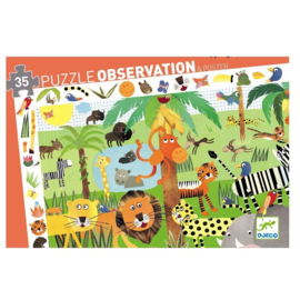 Djeco - DJ07590 observatiepuzzel  - de jungle