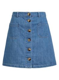 King Louie Garbo Mini Skirt Canyon Denim
