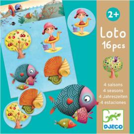 Djeco -  loto 4 seizoenen 16pcs DJ08123