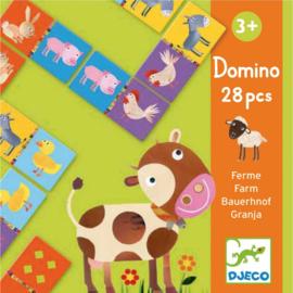 Djeco - domino 28pcs Farm DJ08158