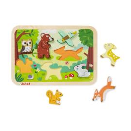 Janod houten puzzle