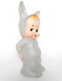 lapin & me lamp bunny grey
