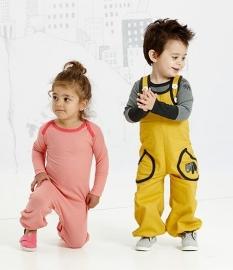 AlbaKid Gy Baggy Crawlers yellow