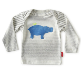Tapete  longsleeve off white stripe hippo
