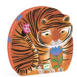 Djeco  puzzel - de tocht van de tijger