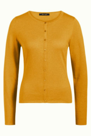 King Louie  Cardi roundneck Cocoon - Honey Yellow