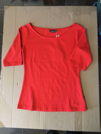 Froy&Dind shirt Lina Bamboo Red