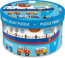 Scratch puzzel - Ferry boat
