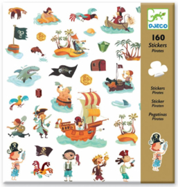 Djeco - stickers - pirates