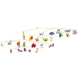 Djeco mobiel - dieren carnaval DD04318