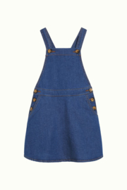 Petit Louie  pinafore dress chambray