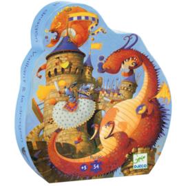 Djeco puzzel - Vaillant & de draak