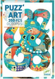 Djeco - puzzel art -  octopus DJ07651