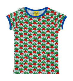 Duns Sweden T-shirt - radish eggshell