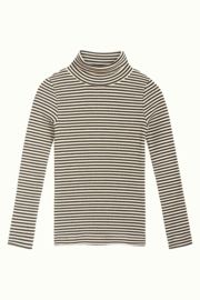 Petit Louie  Rollneck top tweedy stripe