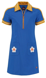 Dress Sporty Summer Mini Blue