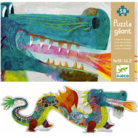 Djeco grote puzzel  -  Leon de draak