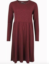 Danefae Skanderborg Dress Dark Bordeaux