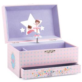 Djeco muziek/speel doosje ballerina DJ06597