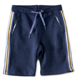 Little label  shorts contrast-navy